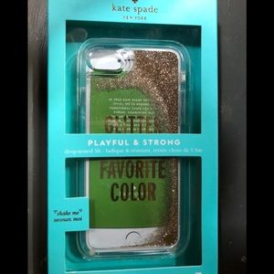 New Kate Spade Glitter iPhone Case iPhone 7